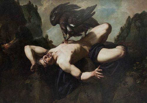 Prometheus and Uranus