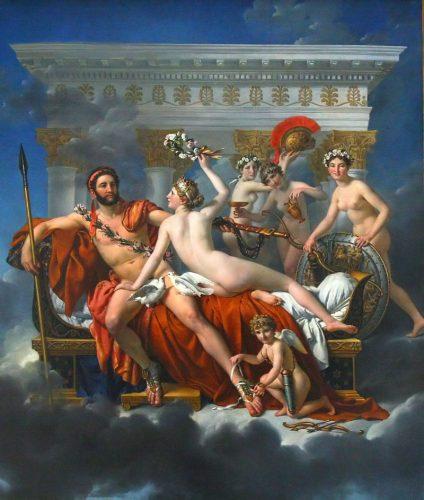 Venus disarms Mars