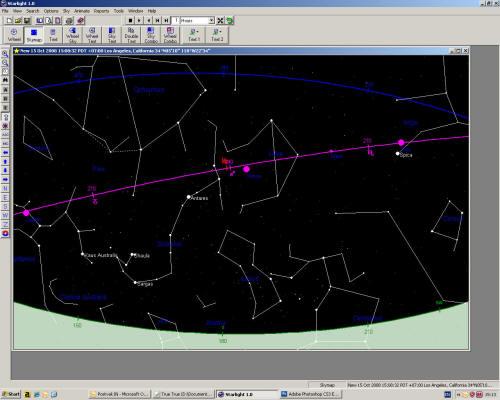 Constellation Libra Scorpio