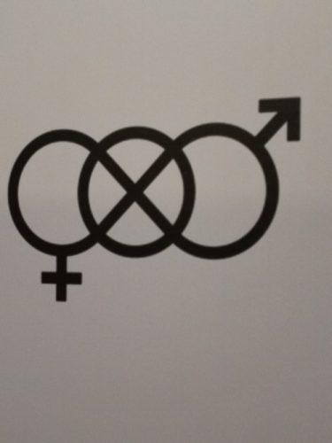 unisex toilet